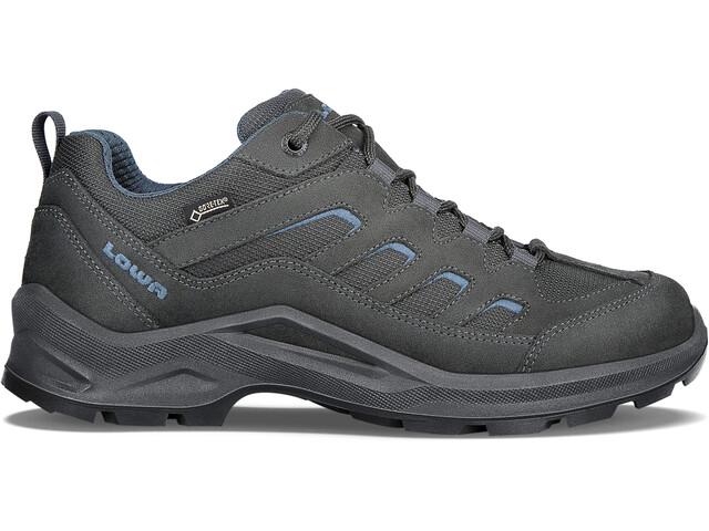Lowa Sesto GTX Chaussures à tige basse Homme, anthracite/blue